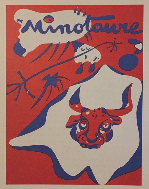Joan Miro, Cover for Minoraure, No 7