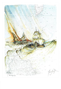 Jean Doat, Limited Edition lithograph Je