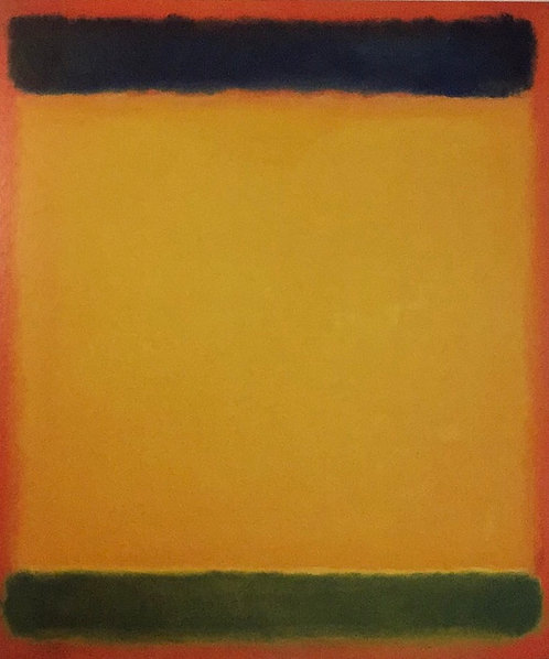 Mark Rothko, Untitled (Blue, Yellow, Green in Red)