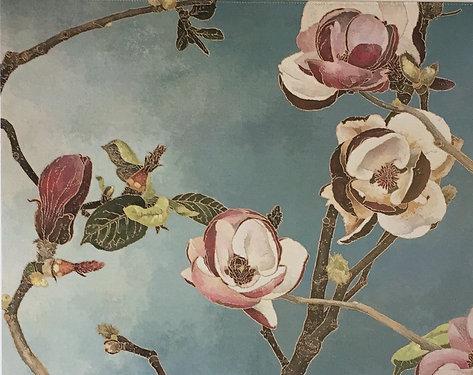 Cressida Campbell, Magnolias (detail)
