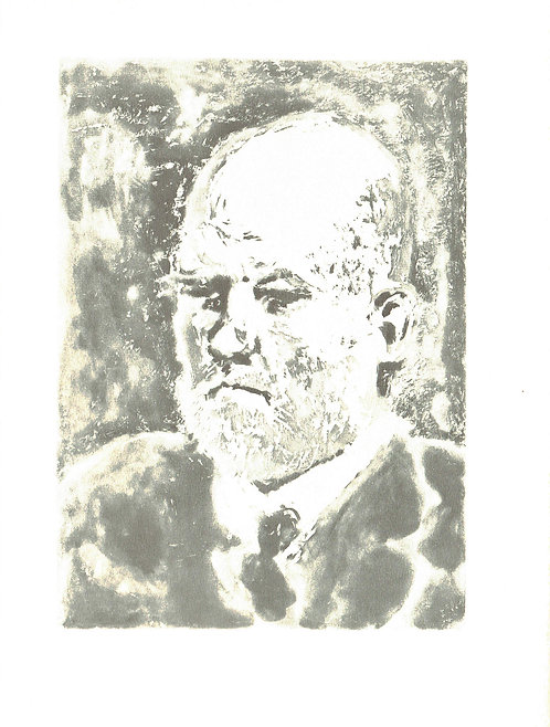 Pablo Picasso, Bull, Portrait of Vollard II