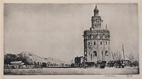 LC Rosenberg, Torre Del Oro, Seville