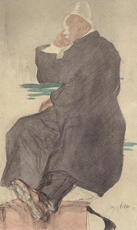Jacques Villon, Le coiffuer de l'hopital
