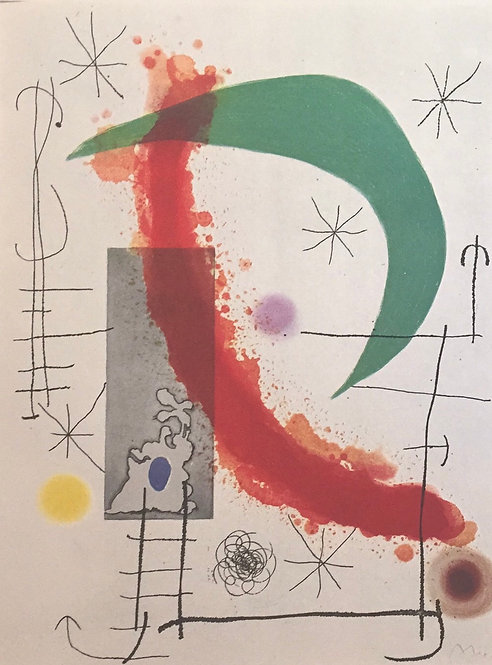 Joan Miro, The Climb