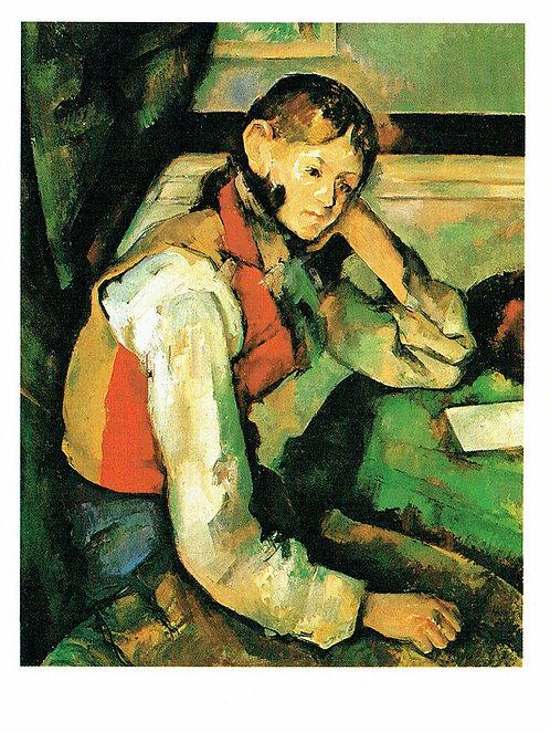 Marc Chagall, Boy in a Red Waistcoat