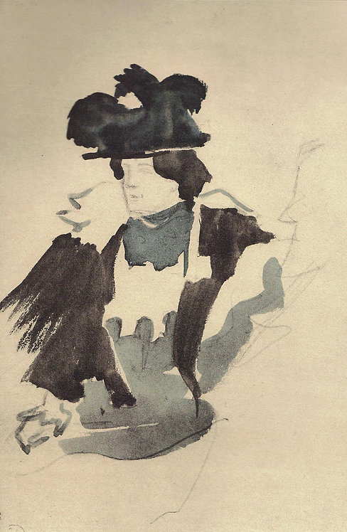 Jacques Villon, Au Cafe