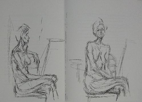 Giacometti - original lithograph