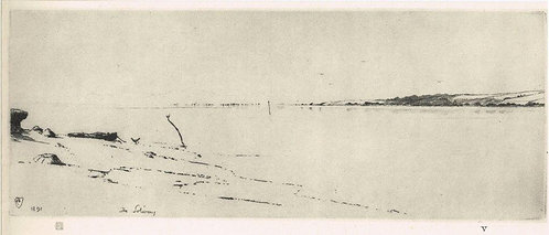 Frank Short, The Solway at Midday
