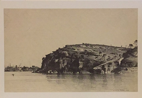 Lloyd Rees, Ball's Head, Sydney Harbour
