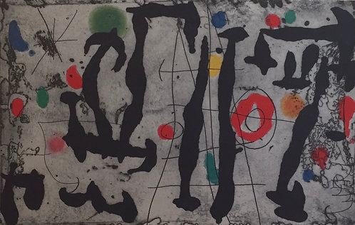 Joan Miro, Drawn on a wall IV