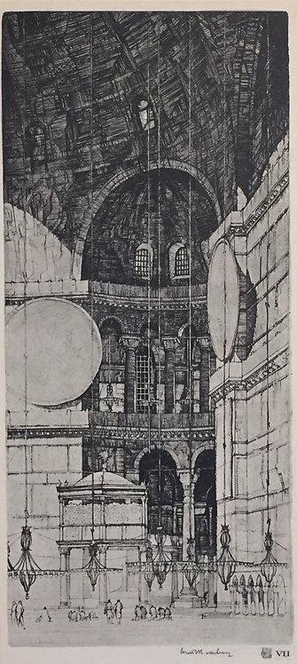 LC Rosenberg, Aya Sophia, Constantinople