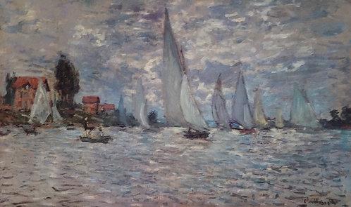 Claude Monet, Regatta at Argenteuil