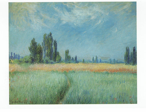 Claude Monet, Wheat Field