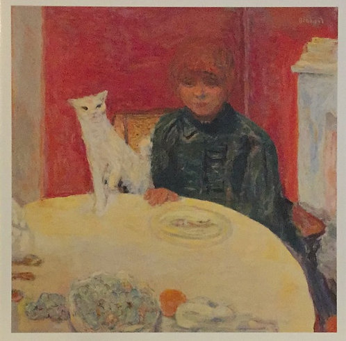 Pierre Bonnard, Woman with Cat