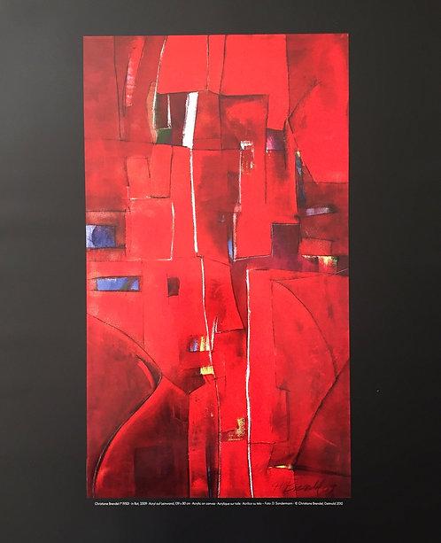 Christiane Brendell, In Red, 2009