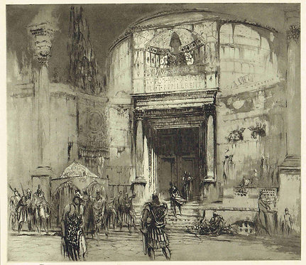 William Walcot, Temple of Romulus