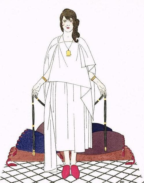 Gazette Du Bon Ton 1920 No 3 Pochoir