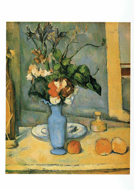 Marc Chagall, The Blue Vase