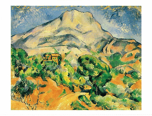 Marc Chagall, Mont Sainte Victoire
