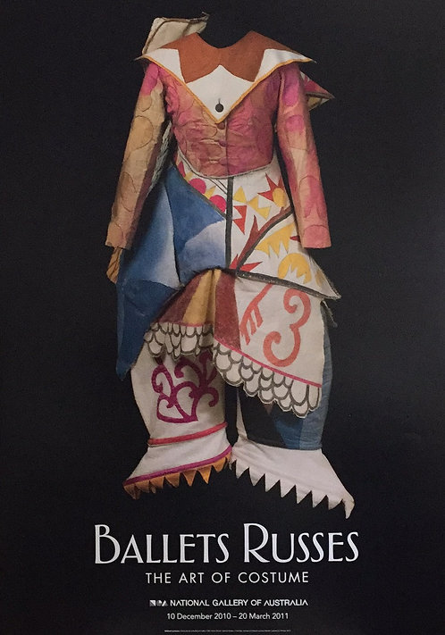 Ballets Ruses Poster, 58cm x 84cm