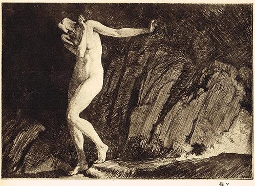 W Russell Flint, Eve