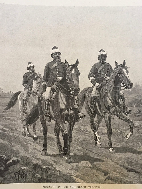 Mounted Parade and Aboriginal Trackers