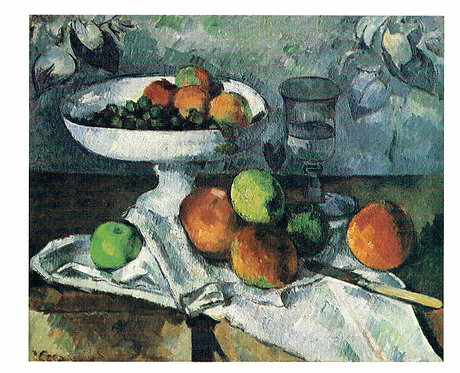 Marc Chagall, Still Life with Compotier