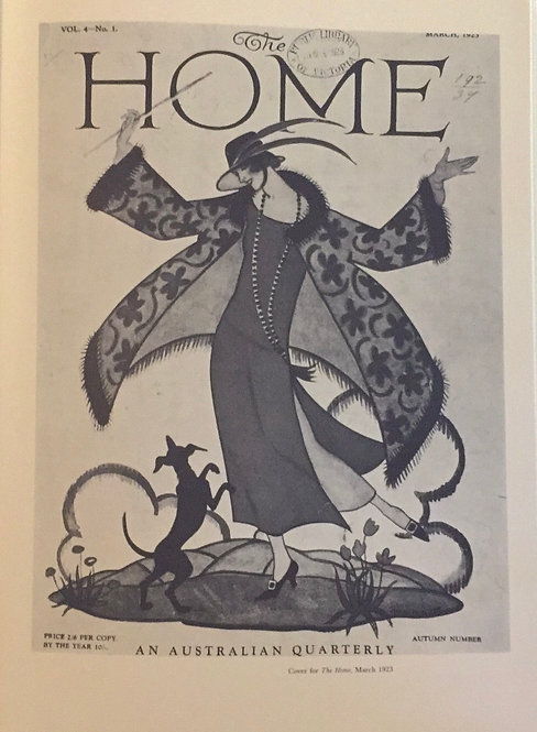 Thea Proctor, Cover For 'The Home'