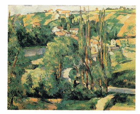 Marc Chagall, Jallais Hill, Pontoise