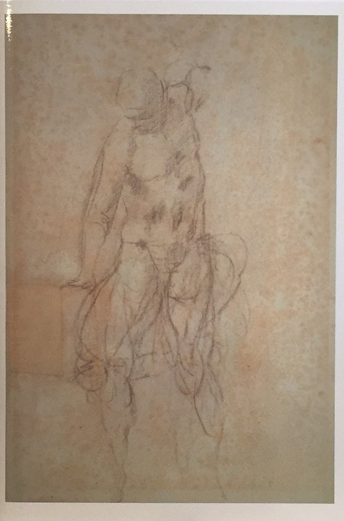 Michelangelo Buonarroti, Study for the Resurrection of Christ