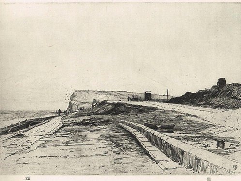 Frank Short,  The Sea Road into Seaford