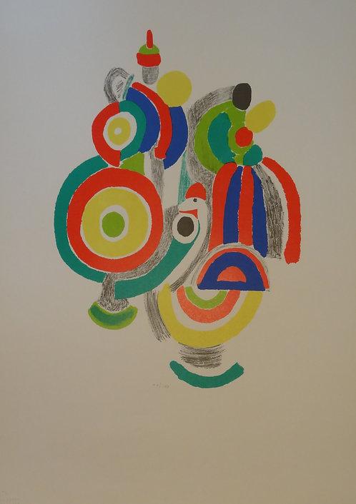 Sonia Delaunay - Lithograph