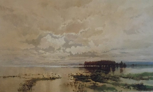 W C Piguenit, The Flood in the Darling