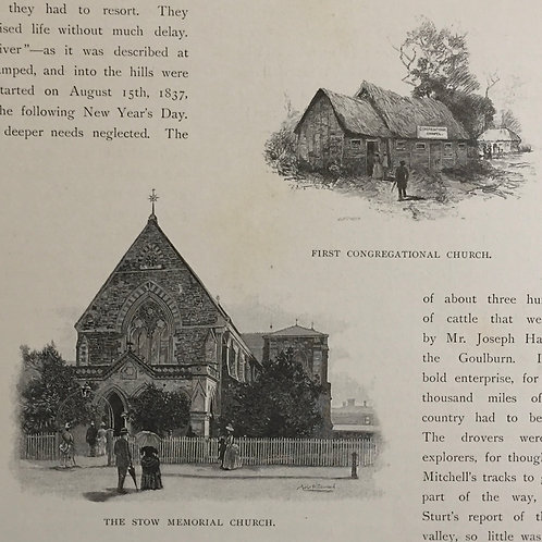 The Stow Memorial Church & First Congregational Church