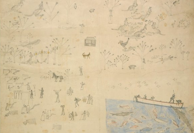Mickey of Ulladulla, Scenes of Aborigina