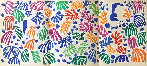 Matisse -  Lithograph - La Perruche et la Sirene