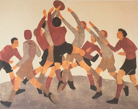 Ethel Spowers, Football