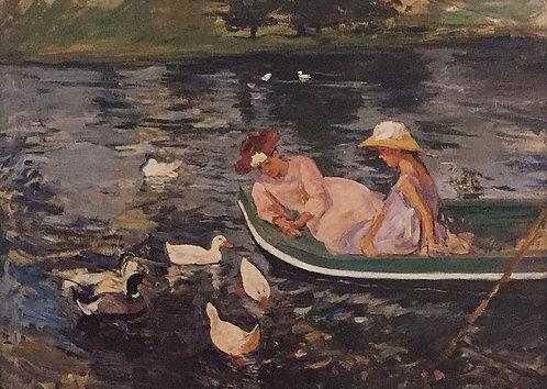 Mary Cassatt, Summertime, c1894