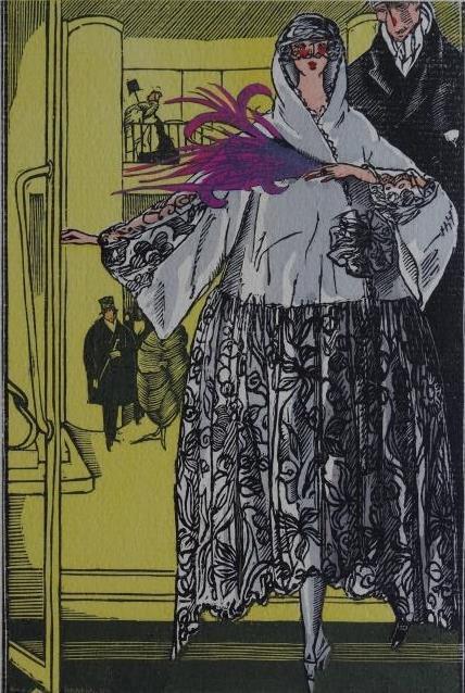 Gazette Du Bon Ton 1921 No 4 Pochoir