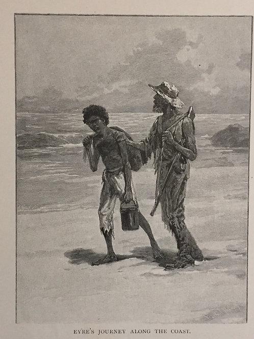 Eyre's journey along the Coast