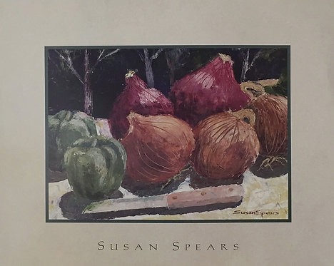Susan Spears, Onion 25.5x35cm