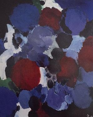 Ernst Wilhelm Nay, Ontario Blue