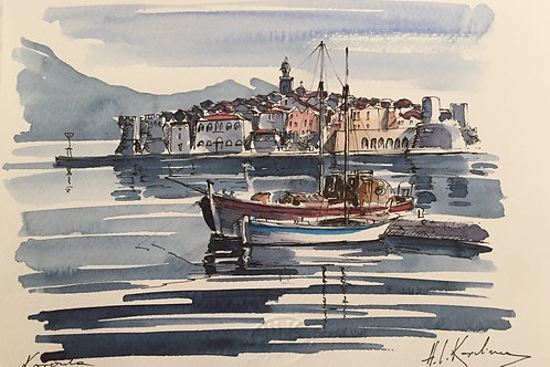 Hrvoje Kapelina, Croatian Watercolour