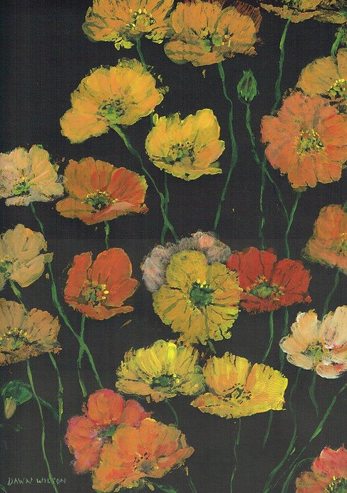 Dawn Wilson - Spring Poppies