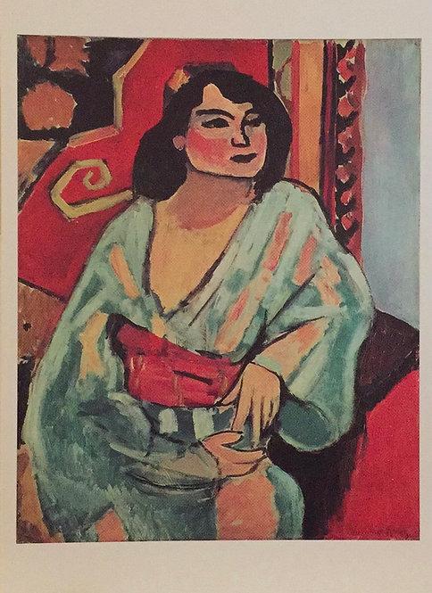 Henri Matisse, Algerian Woman