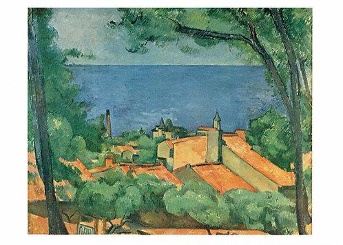 Marc Chagall, The Sea at L'Estaque
