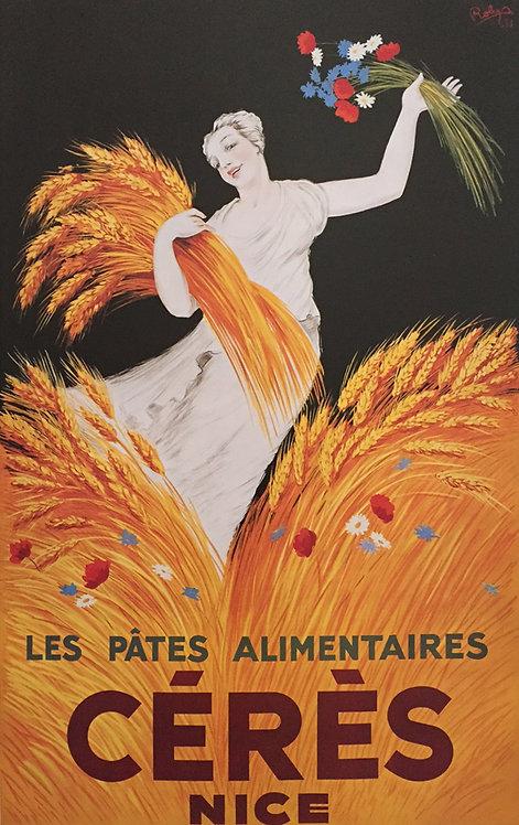 French Liqueur poster - Le Pates Alimentaires