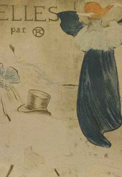 Henri de Tourlouse - Lautrec, Frontispiece for Elles