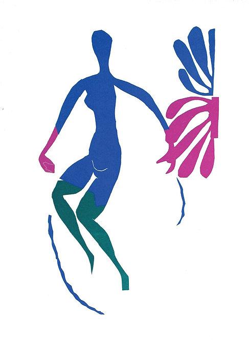 Matisse -  Lithograph - Nu Bleu VI