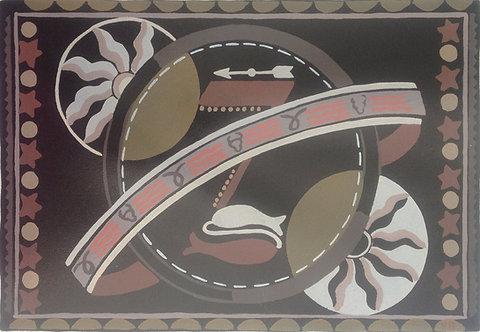 Pochoir c1920 possibly Serge Gladky Plate 1